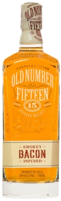 Old Number Fifteen Smokey Bacon Infused Bourbon Whiskey