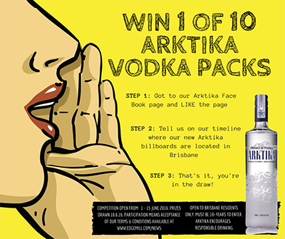 WIN 1 OF 10 ARKTIKA VODKA PACKS